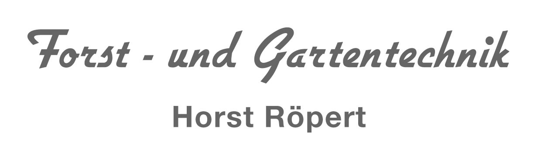 Forst- und Gartentechnik Horst Röpert