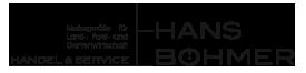 Logo Böhmer Gartengeräte