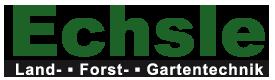 Logo Echsle Land, Forst und Gartentechnik
