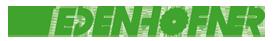 Logo Edenhofner GmbH Forstgeräte
