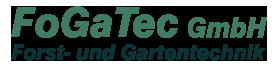 Logo FoGaTec GmbH Forst- und Gartentechnik