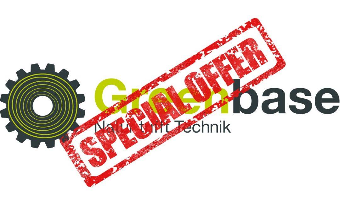 Günstiger geht nicht: die Schnäppchen im Greenbase-Onlineshop!