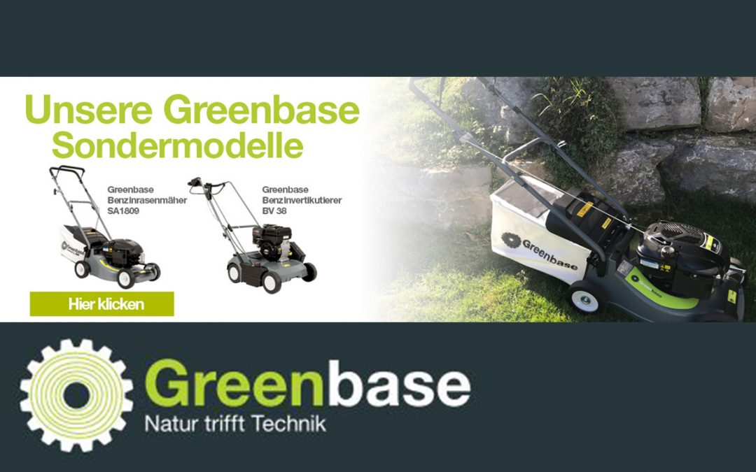 Exklusive Greenbase-Geräte powered by Sabo
