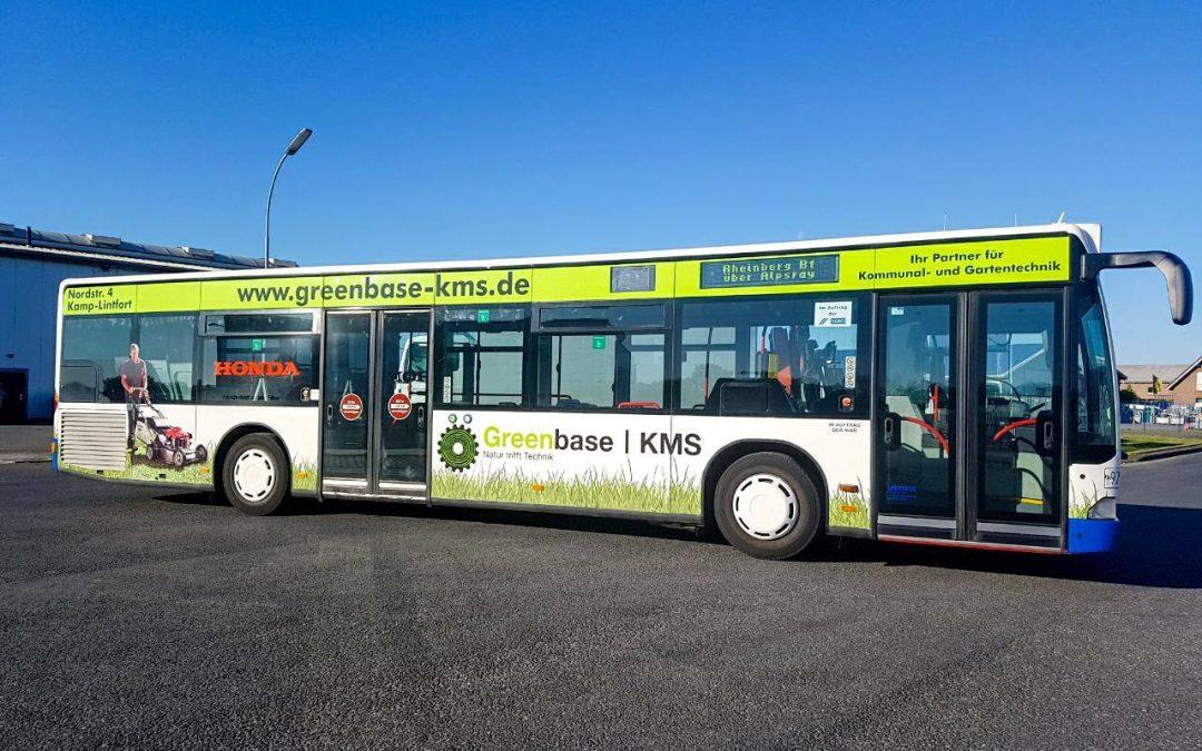 Greenbase | KMS: Werbung auf Rädern & Sommerfest