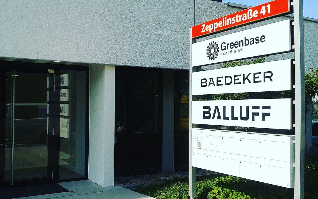 Greenbase eG von Esslingen nach Ostfildern