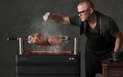 Everdure Holzkohle- & Gasgrills by Heston Blumenthal ab sofort im Greenbase Onlineshop!