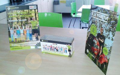 Helfen Sie Kindern in Not: die Spendenboxen für den RTL Spendenmarathon stehen bei Ihrem Greenbase-Fachhändler bereit!