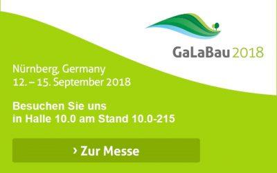 PREMIERE bei der GaLaBau 2018: besuchen Sie uns am Greenbase-Stand!