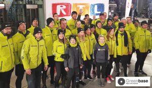Greenbase beim RTL Spendenmarathon - Gruppenbild