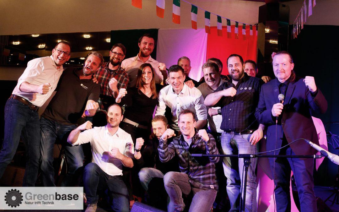 Greenbase-Team für den RTL SPendenmarathon 2018