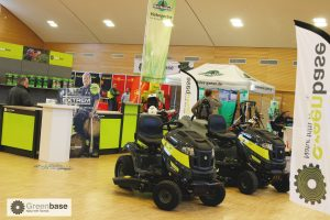 Greenbase-Eigenprodukte auf der Messe