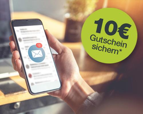 10€ geschenkt: jetzt für unseren Greenbase Newsletter anmelden!