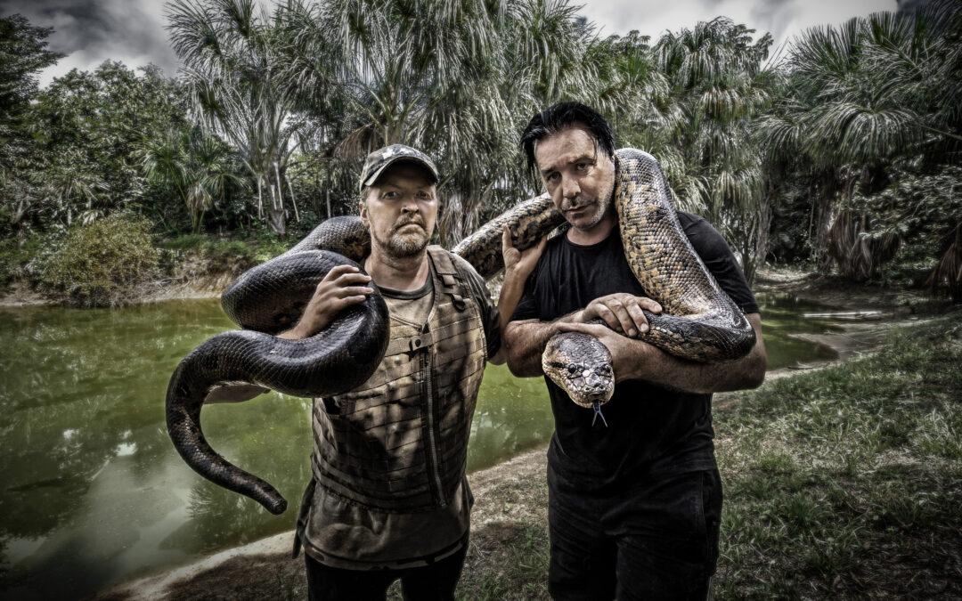 Joey Kelly und Till Lindemann – Der Amazonas als Bühne