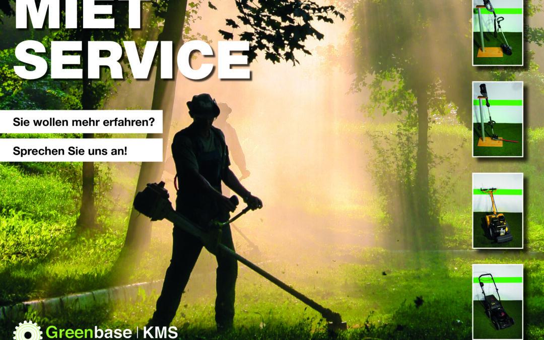 Mietservice bei Greenbase l KMS GmbH